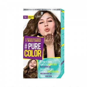 (7.0) Schwarzkopf Pure Color Farba do włosów BLIND NUDE