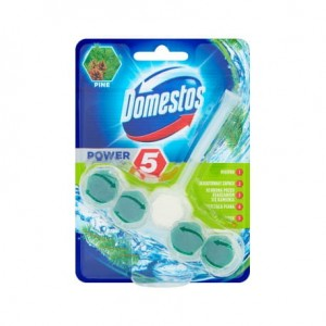 DOMESTOS kostka toaletowa POWER PINE 55g