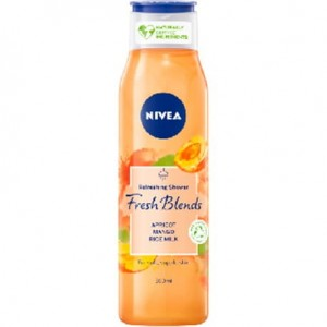 NIVEA Fresh Blends Żel pod prysznic morela i mango 300 ml