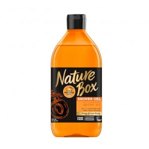 Nature Box Żel pod prysznic Morela 386ml