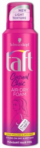 Taft Casual Chic Air-Dry Foam pianka do włosów 150ml