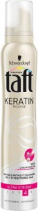 Taft Keratin Ultra Strong Pianka do włosów supermocna 200 ml