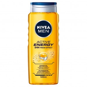 NIVEA Żel pod prysznic Active Energy 500ml