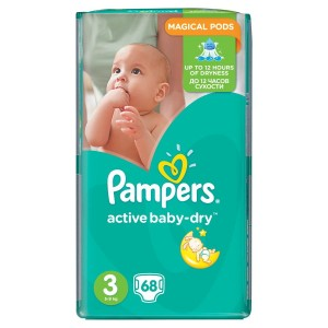 MIX    PAMPERS 3 MIDI A68 ( 4-9KG)