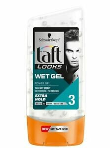 Taft zel wet look